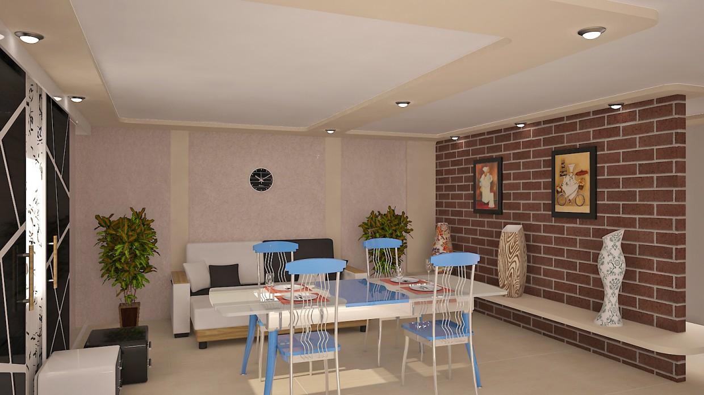 кухня в 3d max vray 3.0 зображення