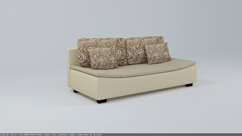Sofa ALICE LUX 3DL in 3d max vray 3.0 image
