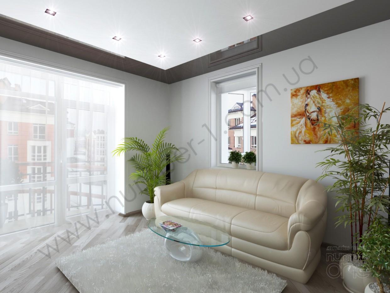 """""""Внутренний дворик"""" в квартире в 3d max vray изображение"""