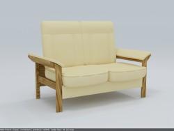 Sofa MEDIOLAN 2F