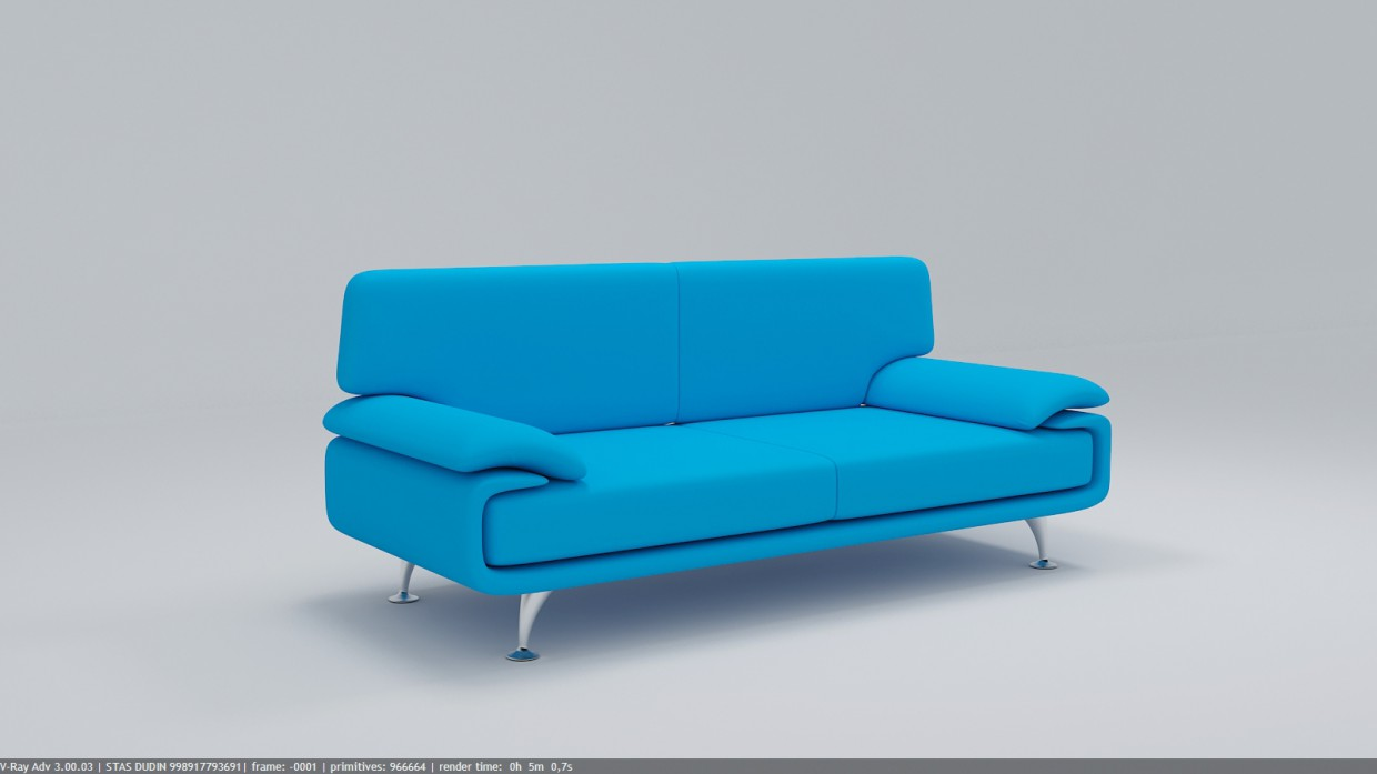Sofa EMMA 3DL in 3d max vray 3.0 image