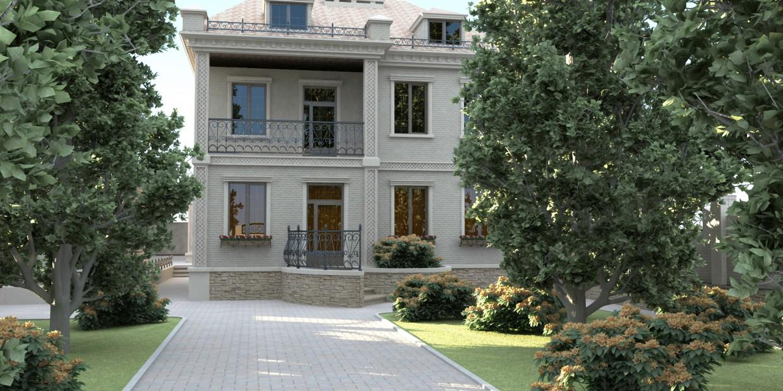 imagen de Casa en 3d max vray