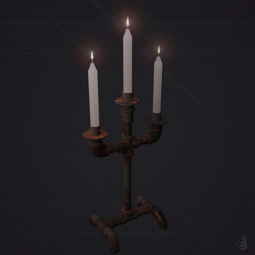Plumber's Candlestick )) in 3d max vray 2.5 image