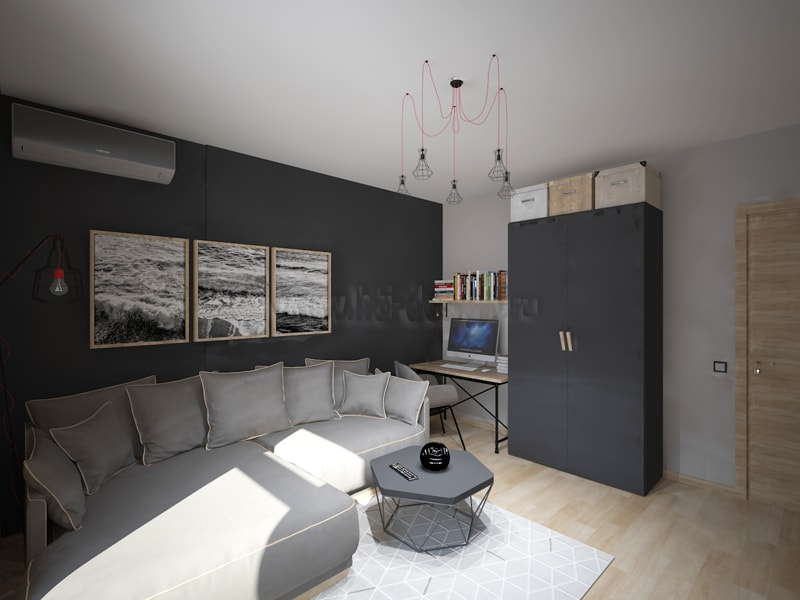 Modern Living Room in 3d max vray 2.0 image