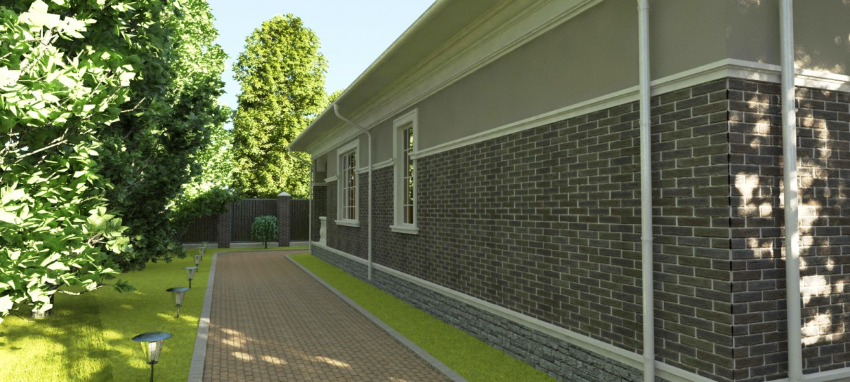 House2 in 3d max vray image