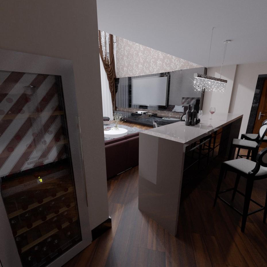 Зал в 3d max corona render зображення