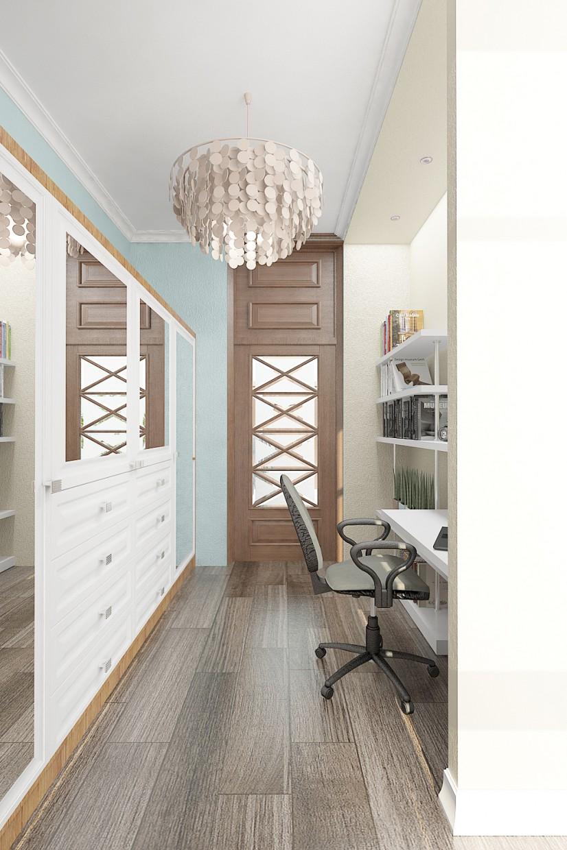 дизайн квартиры в стиле прованс в 3d max vray изображение