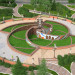 "Reconstruction of the Square ""Flower of Krivbass"" in 3d max vray image"