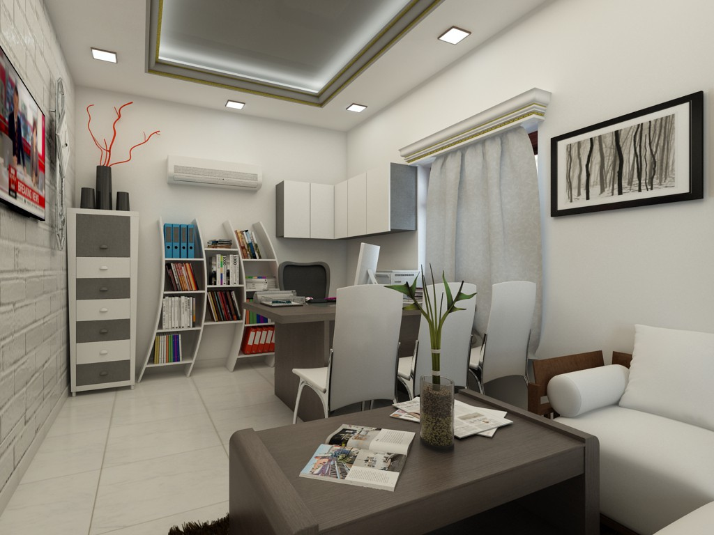 Office in 3d max vray 2.5 image