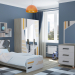 Boy's bedroom in 3d max vray 3.0 image