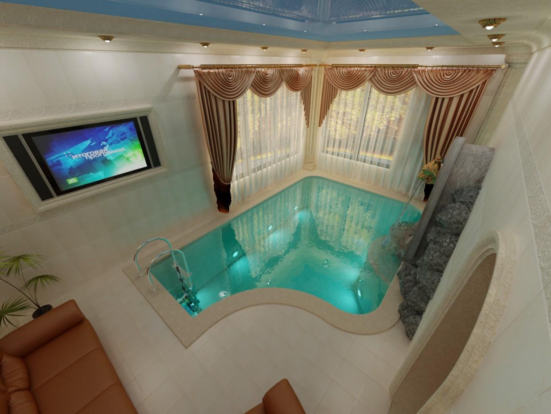 sauna in 3d max vray image