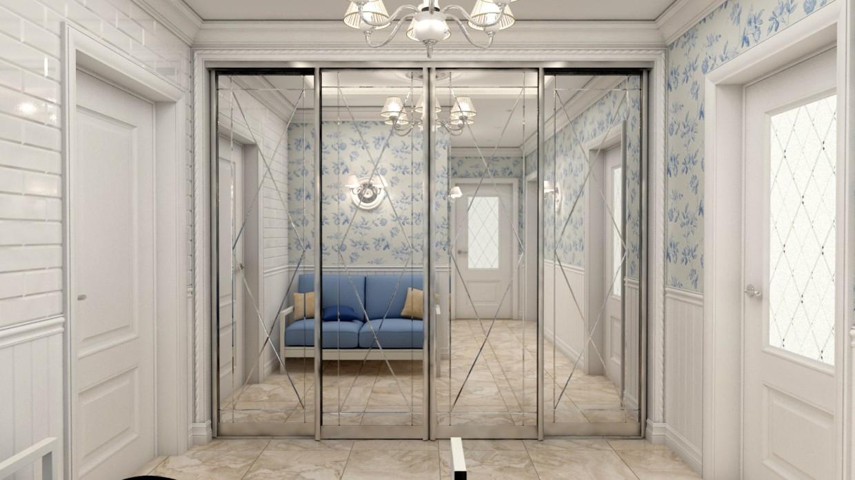 imagen de Pasillo en el apartamento de Moscú en 3d max vray 2.5