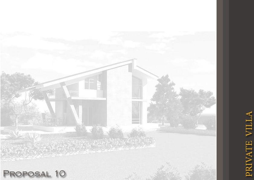 private house в 3d max vray изображение