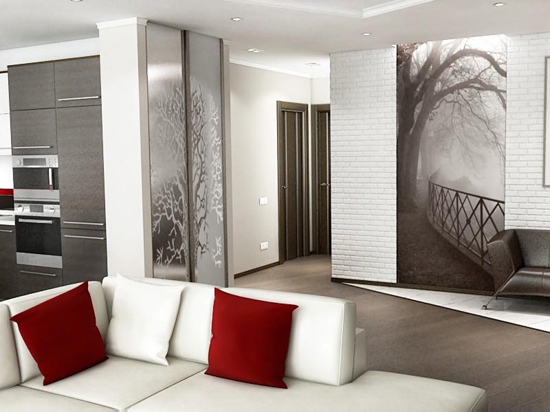 imagen de Apartamento estudio en 3d max vray
