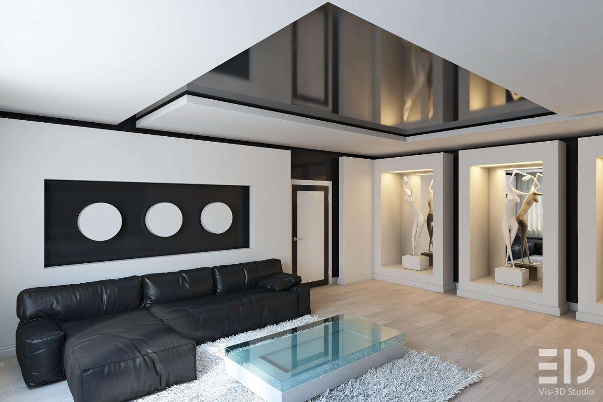 art-three in 3d max vray image