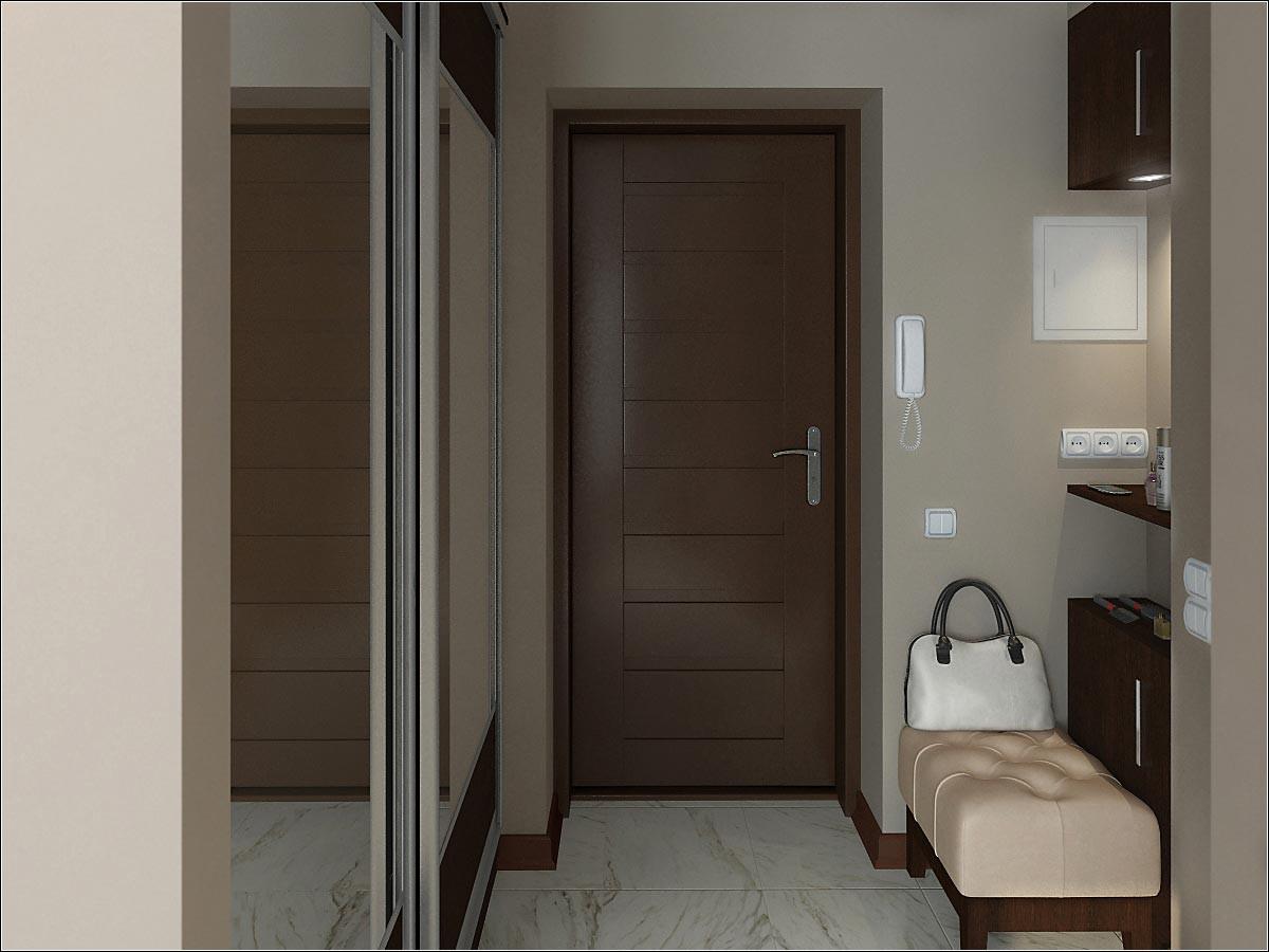 imagen de Apartamento de estudio de diseño en Chernigov en 3d max vray 2.0
