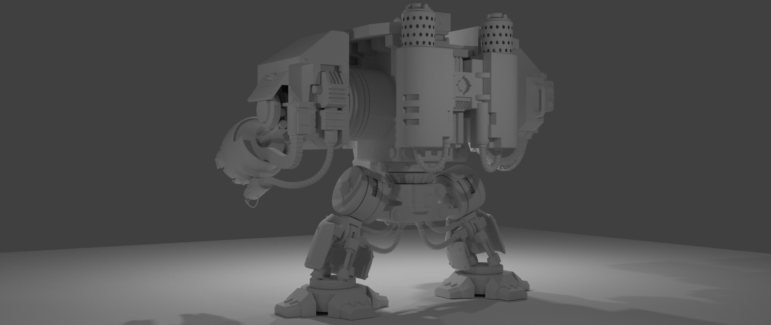 Dreadnought in Blender cycles render image
