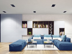 "design of penthouse interior in ""Italian quarter"""