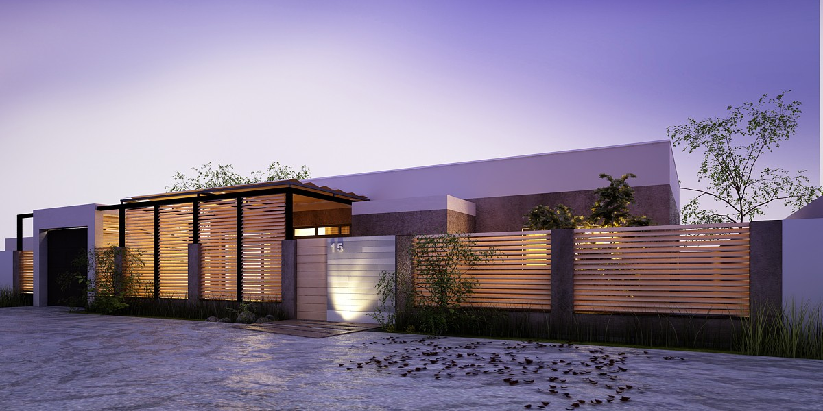 Fence  in  3d max   vray  image