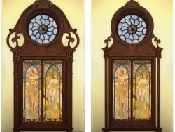 Окно в частный дом