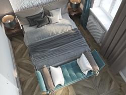 """Schlafzimmer mit Elementen """"Art Nouveau"""""""