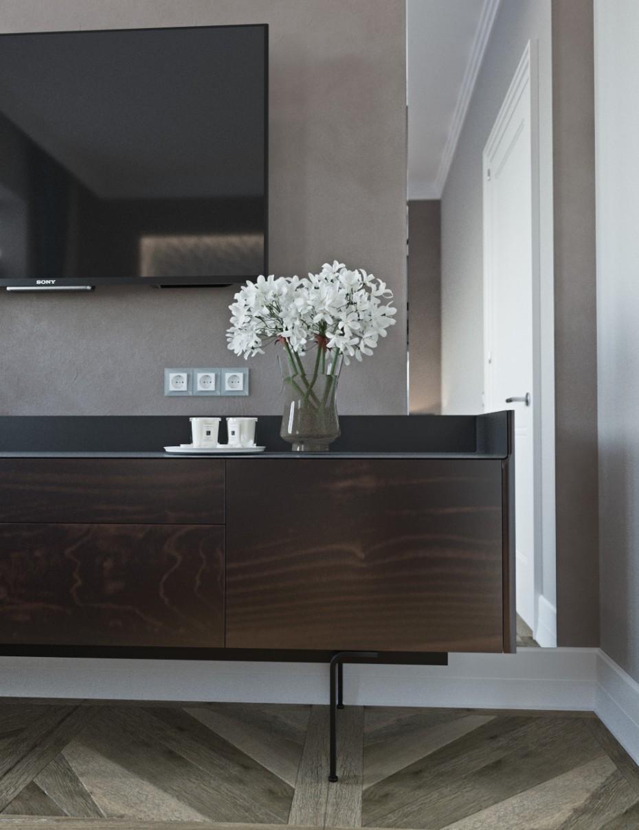 """imagen de Dormitorio con elementos """"nouveau del arte"""" en 3d max corona render"""