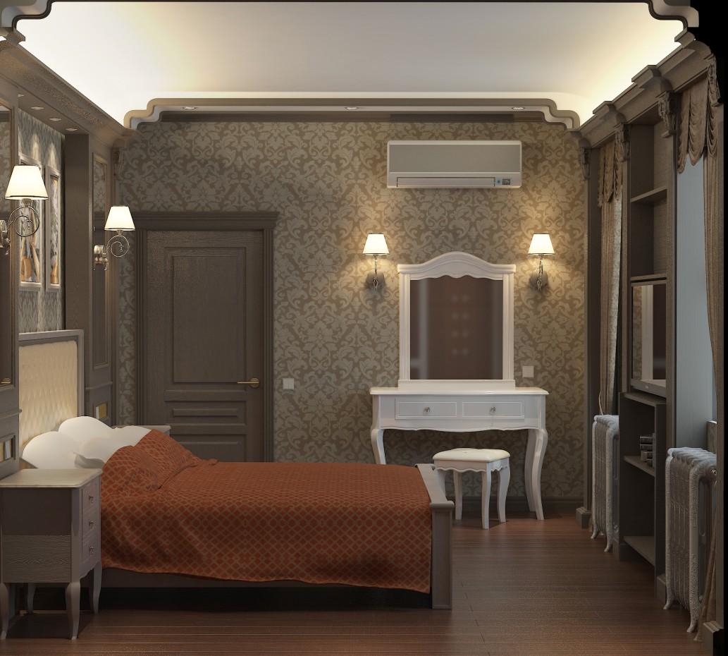 imagen de Habitación en una casa de huéspedes en 3d max vray