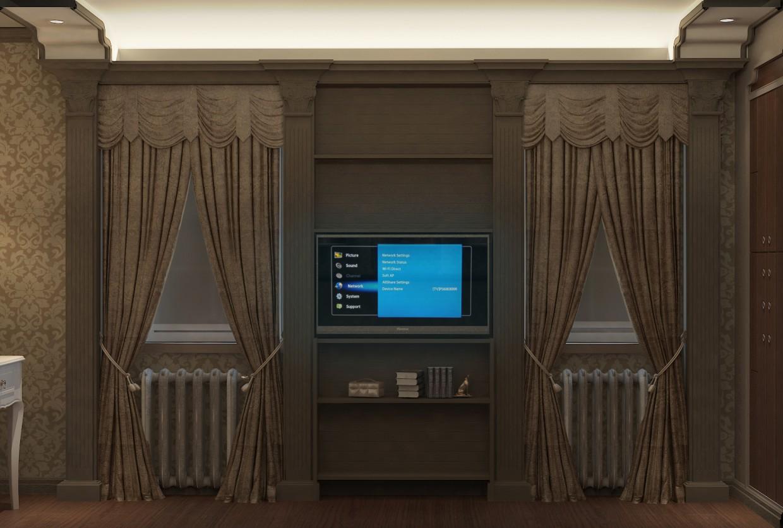 Спальня в гостьовому будинку в 3d max vray зображення