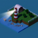 lighthouse in 3d max corona render image