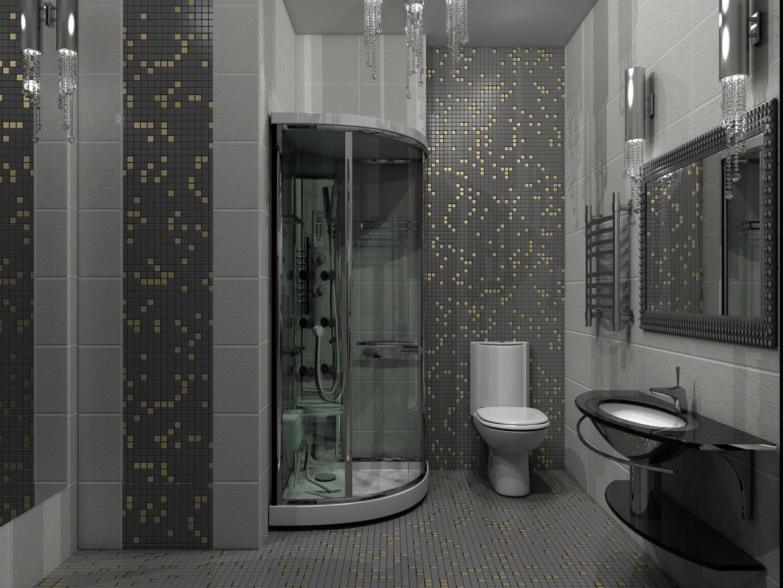 душова кімната в 3d max vray зображення