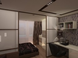 Sala e quarto (16,6 sq ft.)