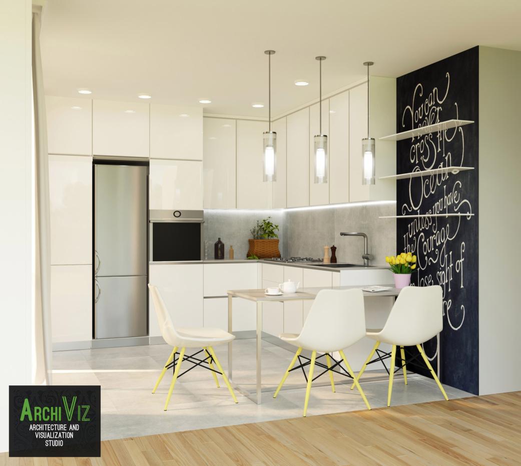 Visualizaci n 3d de la cocina con la creaci n de un nuevo - Diseno 3d cocinas ...