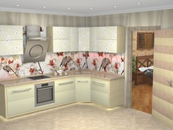 "Kitchen ""Wild Orchid"""