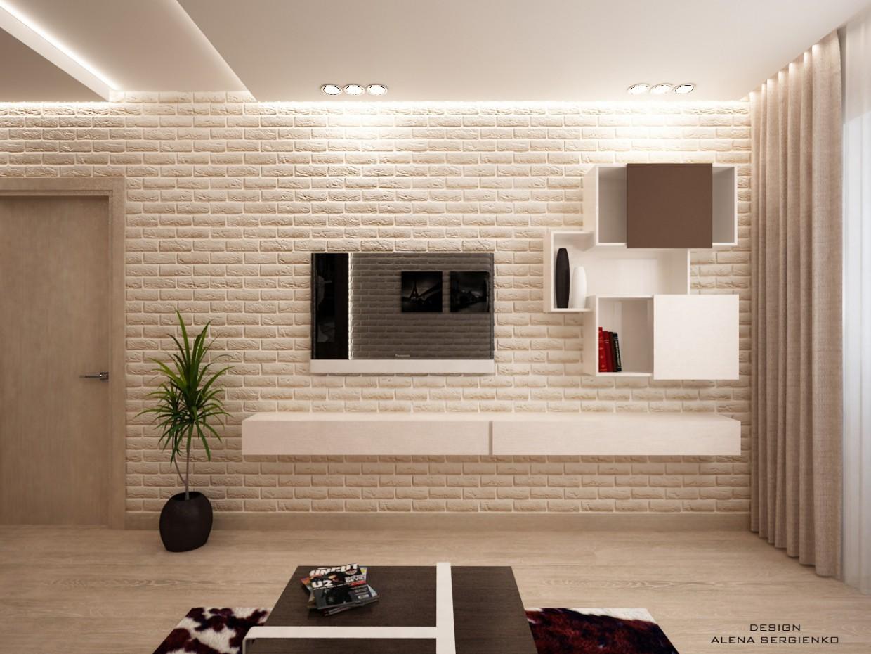 imagen de sala de estar en 3d max vray