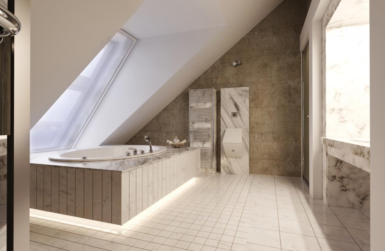 Apartment in Saint-Petersburg in 3d max corona render image