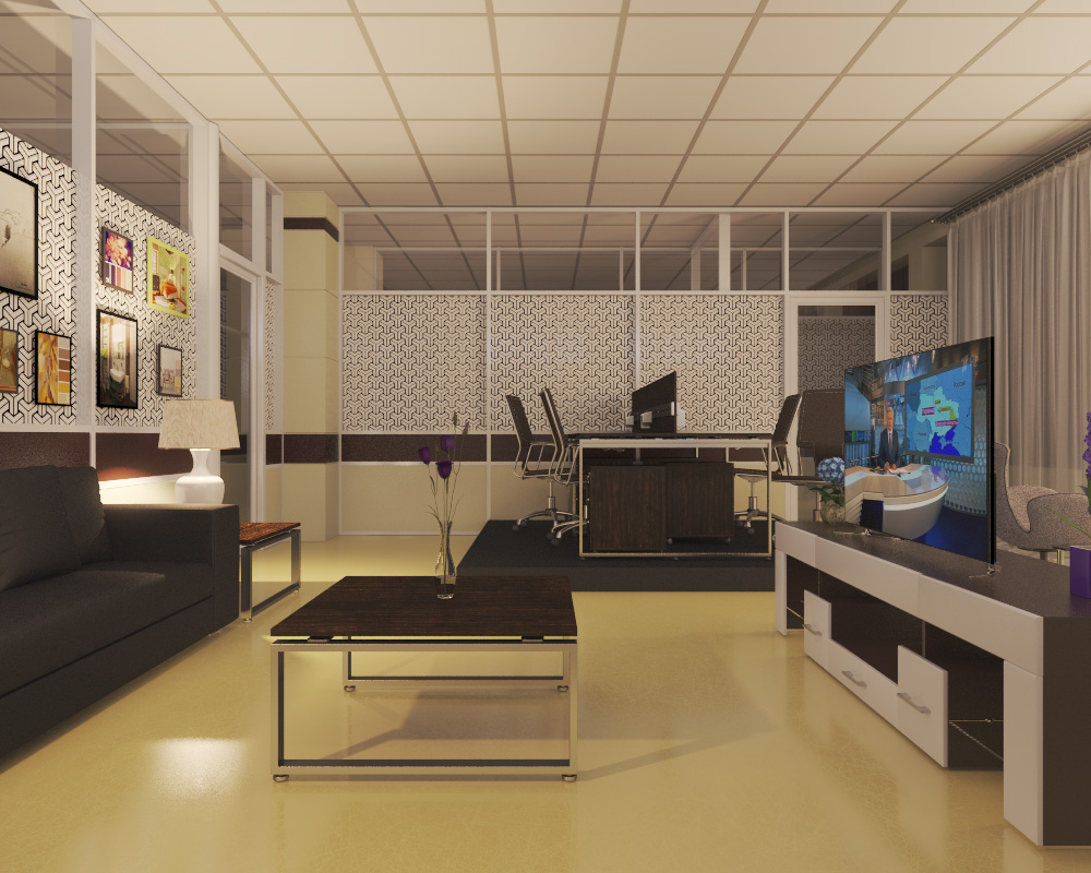 office in 3d max vray 3.0 image