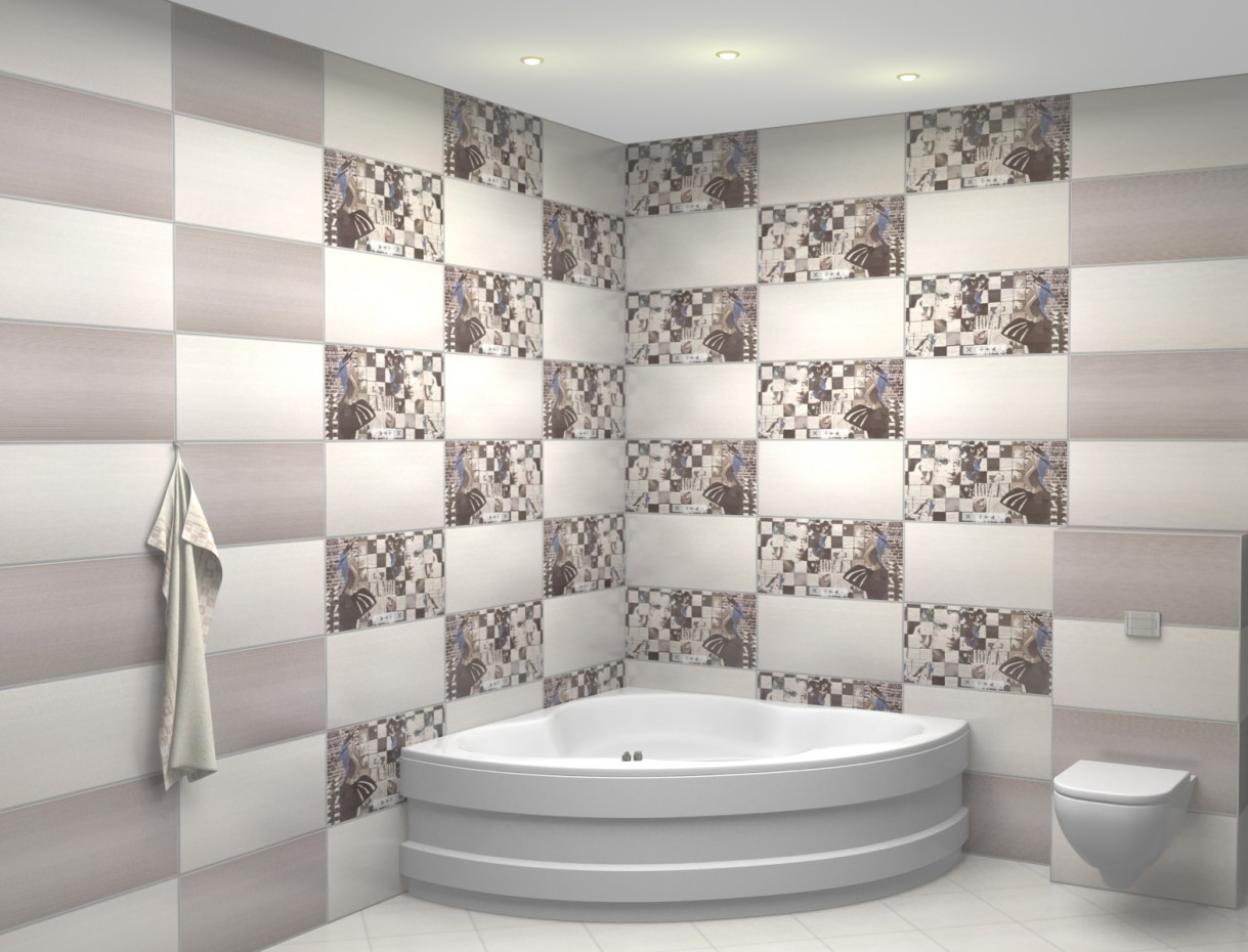 Bathroom 1  in  3d max   vray  image