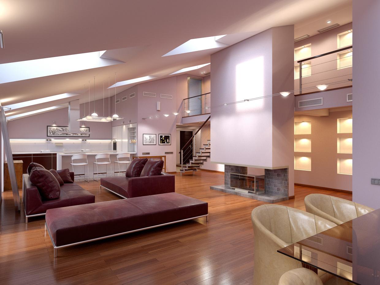 Apartment in St. Petersburg in 3d max corona render image