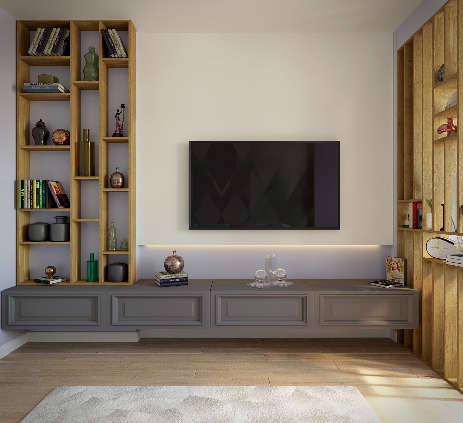 3D-Interior Visualization in 3d max corona render image