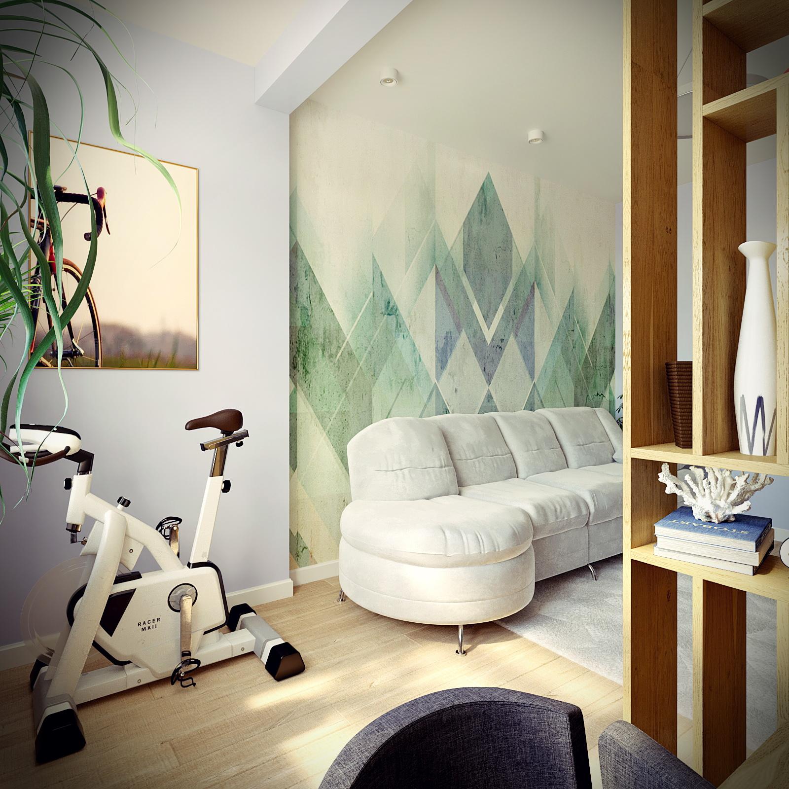 Visualisation 3D intérieure dans 3d max corona render image