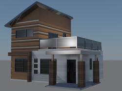 pequeña casa