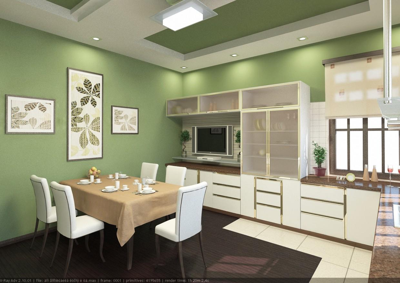 Інтер'єр: приватний будинок в 3d max vray зображення