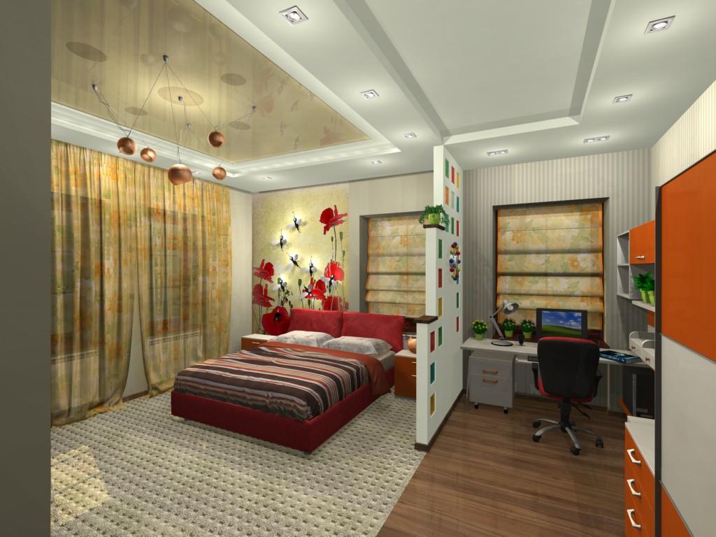 3d визуализация проекта спальня в Другое, рендер Other от gikova
