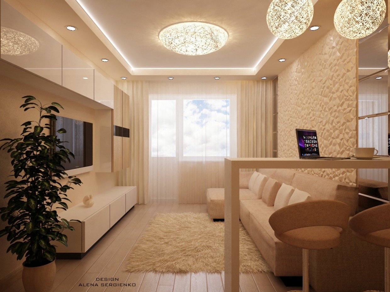 lounge in 3d max vray image