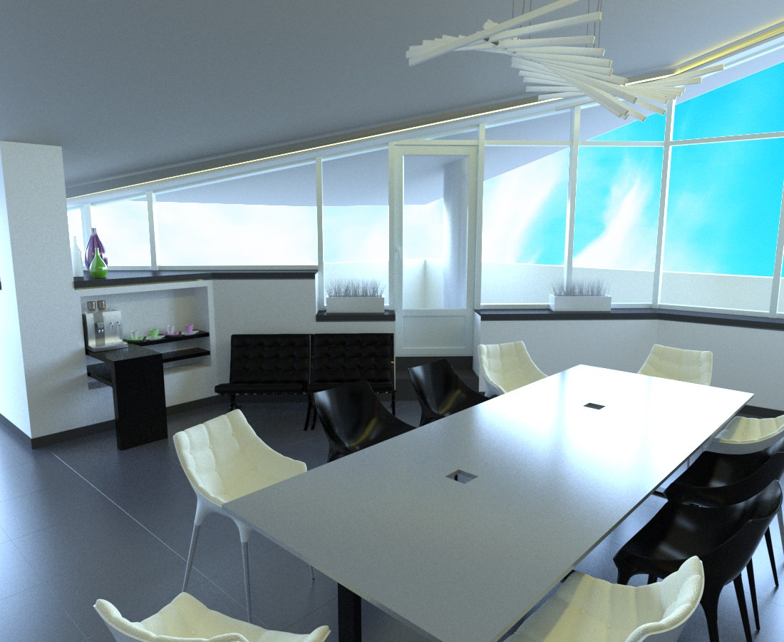 imagen de Oficina en 3d max corona render