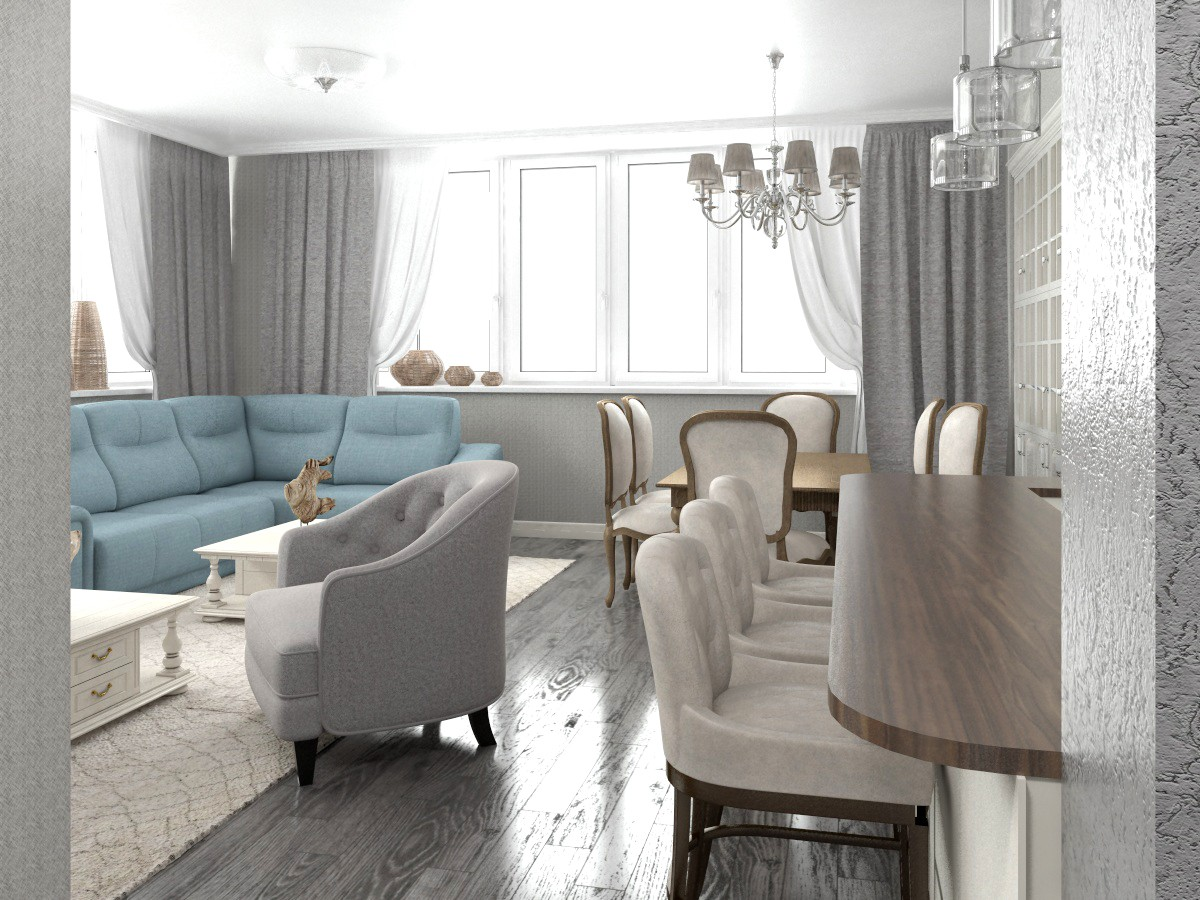 Apartment for mom in 3d max vray 3.0 image