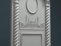 3D модель для фрезерного станка с ЧПУ