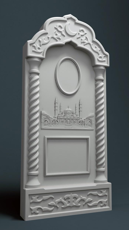 3D модель для фрезерного станка с ЧПУ в 3d max vray 3.0 изображение