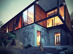 Casa de metal