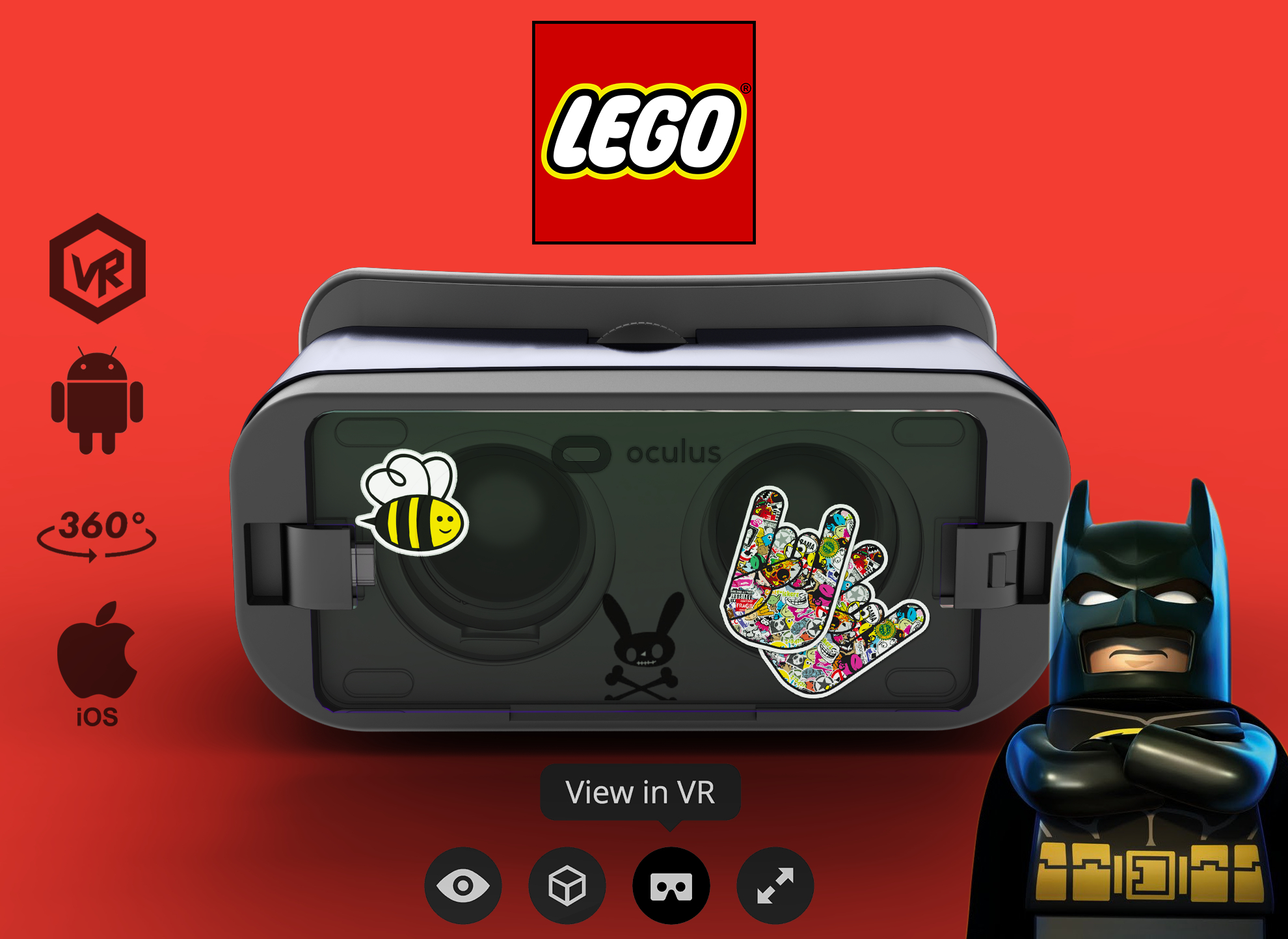 SAMSUNG VR BATMAN in 3d max Other image
